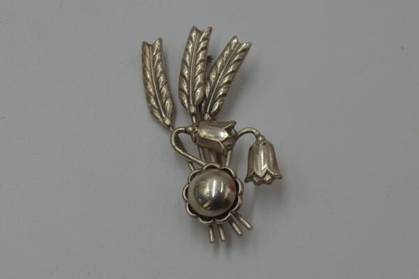 sølv broche